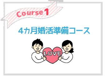 4ヶ月婚活準備コース